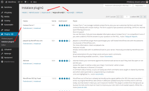 Instalace pluginů ve WordPressu
