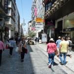 Ulice Ermou ze Syntagmy - Atény