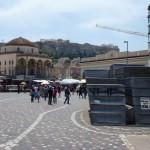 Náměstí Monastiraki - Atény