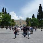 Náměstí Syntagma - řecký parlament - Atény