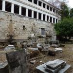 Pozůstatky - Ancient Agora - Atény