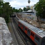 Metro hned vedle chrámu - Ancient Agora - Atény