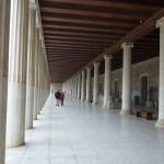 Sloupy v chrámu - Ancient Agora - Atény