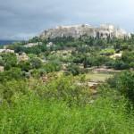 Pohled na Akropoli - Atény