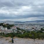 Pohled na Atény