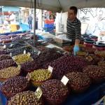 Trhy v Aténách - olivy