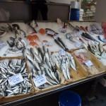 Trhy v Aténách - ryby