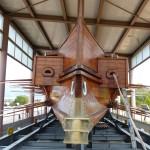 Replika řecké lodě - lodní muzeum - Atény
